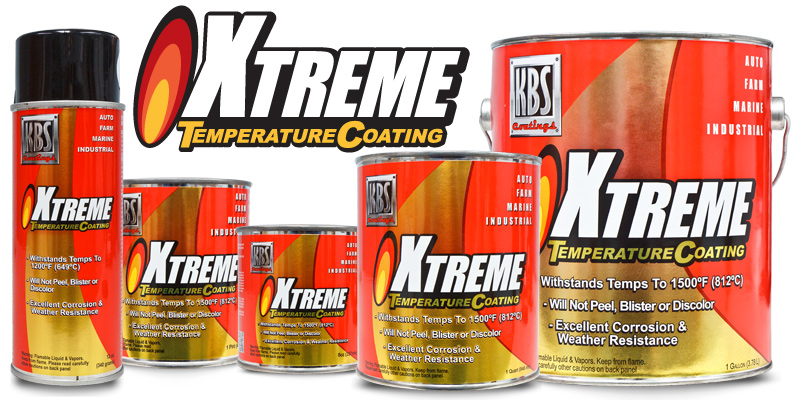 Rust Prevention Spray >> Xtreme Temperature Coating - High Temperature Paint - Header Paint - Stove Paint