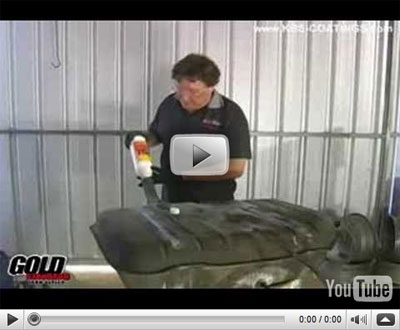 Tank Sealer - Stop Rust - Video