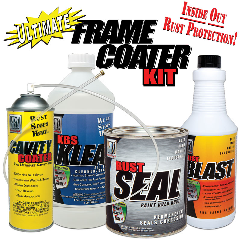 Ultimate Frame Coater Kit - Inside Out Rust Protection