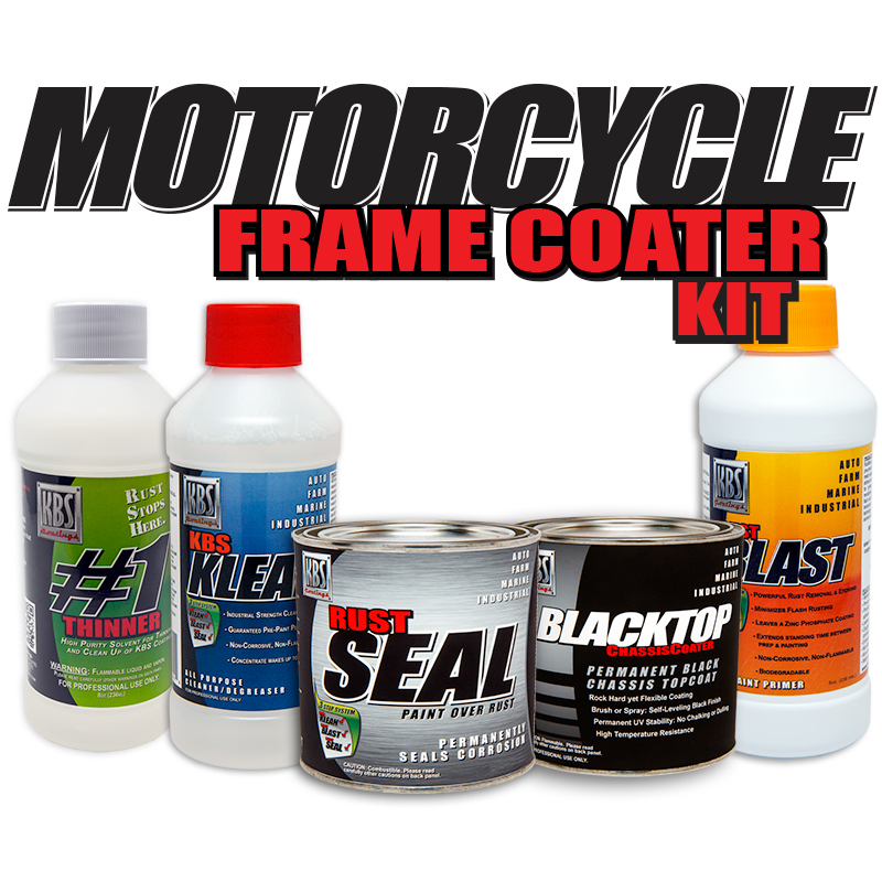 motorcycle frame coater kit - Motorcycle Frame Paint
