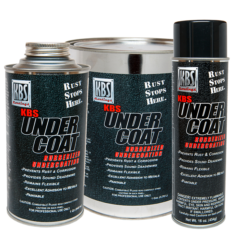 Kbs Undercoat Solvent Based Rubberized Undercoating From