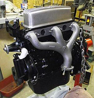Motor Coater - Engine Paint