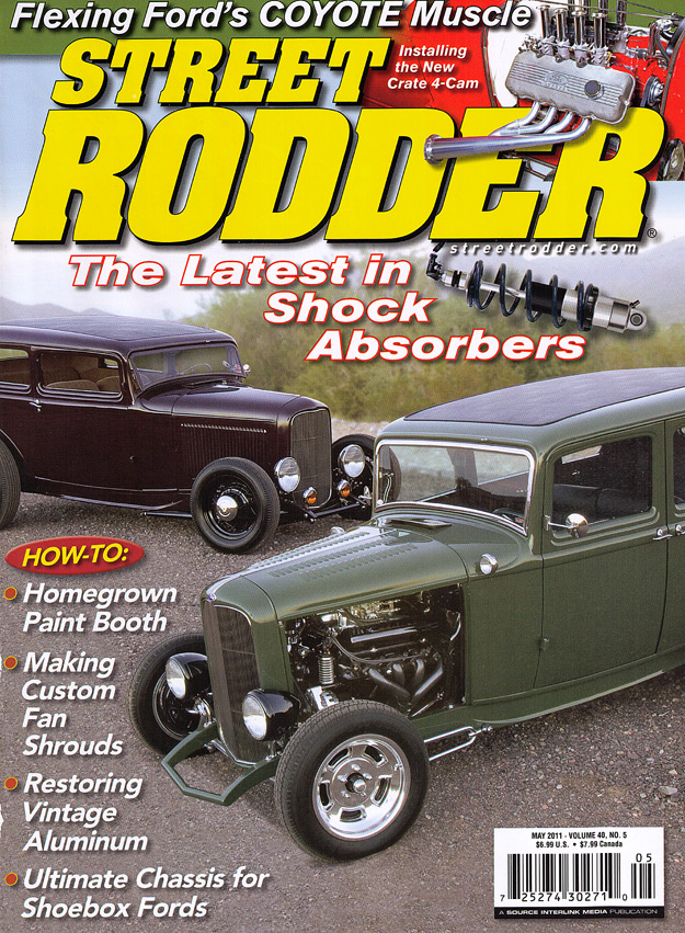 Street Rodder Magazine >> Street Rodder Magazine May 2011 Cover Page Kbs Rustseal And